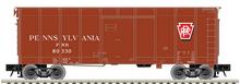 Pre-Order for Atlas O PRR  40' wagon top box  car