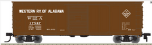 Pre-order for Atlas O Western Rwy of Alabama 40' USRA Steel Box Car