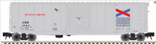 Atlas O Chattahoochie Industrial 50' PS-1 single door door box car, 3 rail or 2 rail