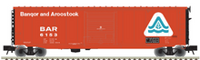 Atlas O BAR (late sceme)  50' PS-1 single door door box car, 3 rail