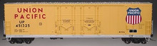 Atlas O UP  53' double plug door box car, 3 rail or 2 rail