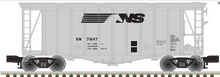 Atlas O NS Airslide Covered Hopper, 3 rail or 2 rail