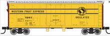 Atlas O 40' GN/WFE plug door (bunkerless) reefer, 3 rail or 2 rail