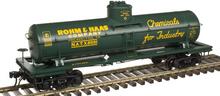 Atlas O Rohm and Haas Chemical 8000 gallon tank car