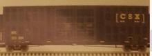 Pre-order for Atlas O CSX (new logo)  60' Hy-cube  box car,  3 rail or 2 rail