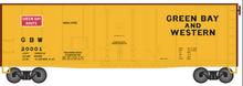 Atlas O 40' GB&W plug door (bunkerless) reefer, 3 rail or 2 rail  car
