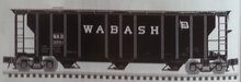 Pre-order for Atlas O Wabash 40' 3 Bay PS-2 Covered Hopper