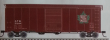 Pre-Order for GTW (maple leaf)) 40' steel box  car