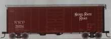 Pre-Order for Atlas O NKP 40' steel box  car