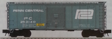 Pre-Order for Atlas O Penn Central 40' steel box  car