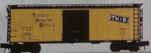 Pre-Order for Atlas O TH&B 40' steel box  car