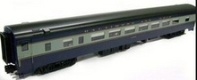 Golden Gate Depot B&O modernized heavyweight passenger coach, 3rail  or 2 rail