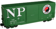 Atlas O NP 40' Hy-cube box car, 3 rail or 2 rail