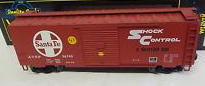 Weaver Santa Fe (shock control)  40' PS-1 box car, 3 rail or 2 rail