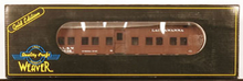 Weaver Lackawanna troop sleeper converted to M of W bunk car