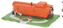 MTH 30-90013 O gauge Yard Office Orange