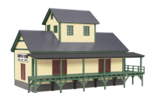 MTH 30-90158 O gauge Smith and Sons Dry Goods Transfer Warehouse