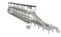 Atlas O Icing Platform and Ice house Kits