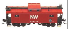 Atlas O Norfolk & Western NE-6 caboose (1980's NW) , 3 rail