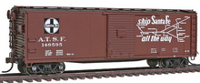 Atlas O Santa Fe USRA 40' steel box car (map scheme), 3 rail or 2 rail
