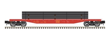 Pre-order for Atlas O D&H 50' flat car with pipe load
