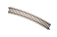 "Atlas O 2 rail 8 pieces 40.5"" radius curve track"