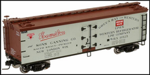 Atlas O Special Run,  Hamilton and Sons Canning Co. 40' reefer