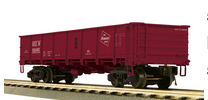 MTH Milwaukee Road 55 Ton Steel Drop Bottom Gondola Car, 3 rail