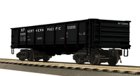 MTH Northern Pacific 55 Ton Steel Drop Bottom Gondola Car, 3 rail