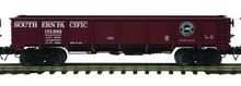 MTH special run Southern Pacific 55 Ton Steel Drop Bottom Gondola Car, 3 rail