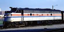 Sunset/3rd Rail amtk FL-9 diesel, dummy A, 2 rail