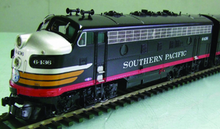 Sunset/3rd Rail SP  black widow F-7A diesel, 2 rail