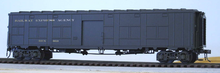 Weaver  O REA pullman green Baggage/express converted troop car, 2 rail