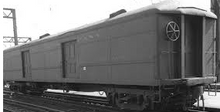 Weaver Reading  60' baggage car, 3 rail or 2 rail