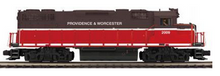 MTH Premier Providence and Worcester GP-38  diesel, 3 rail, Proto 3.0