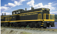 "MTH Railking Maryland and Pennsylvania SW-9 ""cow and calf"" diesels, 3 rail, P2.0"