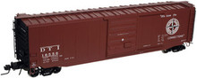 Atlas O DTI 50' box car, 3 rail or 2 rail