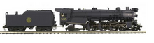 MTH Premier CNJ P-47 Pacific  steam loco, 2 rail, P3.0, DCC