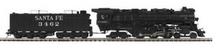 MTH Premier Santa Fe 4-6-4  steam loco, 2 rail, P3.0, DCC