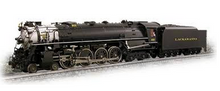 Weaver Brass Lackawanna Pocono steam loco, 2 rail