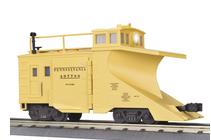 MTH Premier PRR wedge snow plow, 3 rail