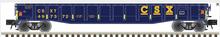 """Pre-order for Atlas O CSX  52' 6"""" gondola"""