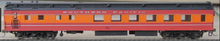 Golden Gate Depot SP Daylight Dining  car, 3 rail
