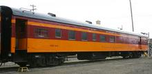 Golden Gate Depot Milwaukee Road  Dining car, 2 rail