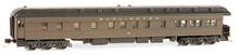 Golden Gate Depot CB&Q (burlington) Observation  car, 3 rail