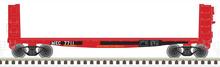 Pre-order  Atlas O Maine Central 40' pulpwood flat car, 3 rail or 2 rail