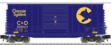 Pre-order for Atlas O Chessie System  40' Hy-cube  box car,  3 rail or 2 rail