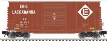 Pre-order for Atlas O Erie Lackawanna  40' Hy-cube  box car,  3 rail or 2 rail