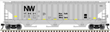 Atlas O (trainman) N&W PS4750 Covered Hopper car