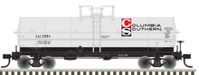 Pre-Order Atlas O  Columbia Southern Chemical 11,000 gallon tank car, 3 rail or 2 rail